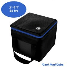 Diabetes HQ - MS (Multiple Sclerosis) - Insulated Medical Travel Bag - iCool Medicube