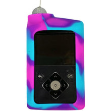 Diabetes HQ - Insulin Pump Cover for Medtronic Pump - Pink / Purple