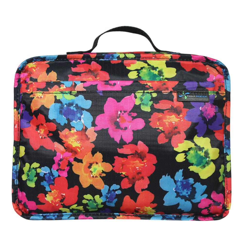 Diabetes HQ - Diabetes Insulated Travel Bag - Poppy