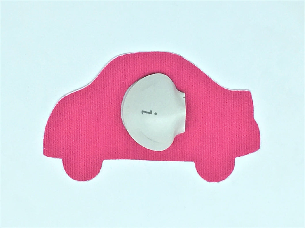 Diabetes HQ - Medtronic - CGM Sensor Patches - Car Shape