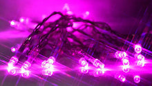 Pink 2m 20 LED battery operated fairy lights