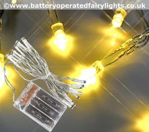 AA Battery Operated Fairy Lights Cool White/Warm White 2m/3m/4m/5metres