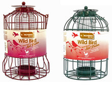 Small Garden bird Feeders for robins, blue tits and finches - nut feeders