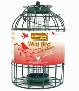 Small Garden bird Feeders for robins, blue tits and finches -medium nut feeder
