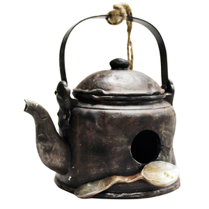 Kingfisher Nesting Box Novelty Teapot/Kettle Decorative Small Garden Bird House