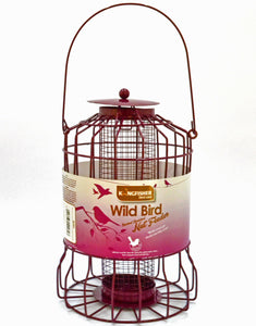 Small Garden bird Feeders for robins, blue tits and finches - large nut feeder