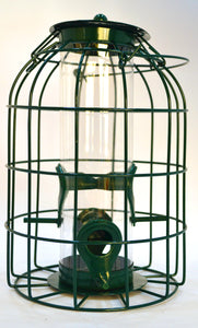 Small Garden bird Feeders for robins, blue tits and finches - Medium Seed Feeder