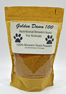 Brewers yeast powder for horses for dogs protein health supplement all natural