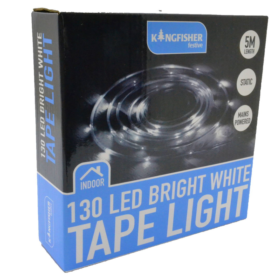 Led Tape Light Bright White 5m 12V power adaptor