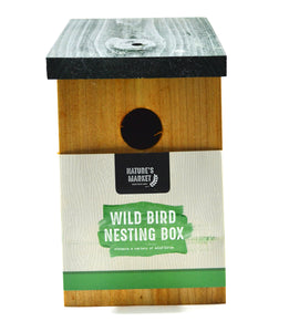 Kingfisher Nesting Box bird house for small garden birds