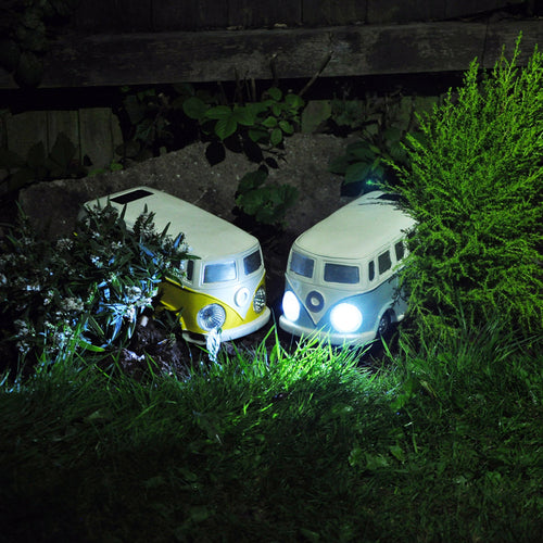 Solar Powered campervan lights garden ornaments
