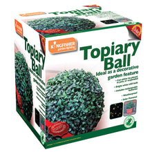 Artificial Topiary Balls Solar powered white LED Lights