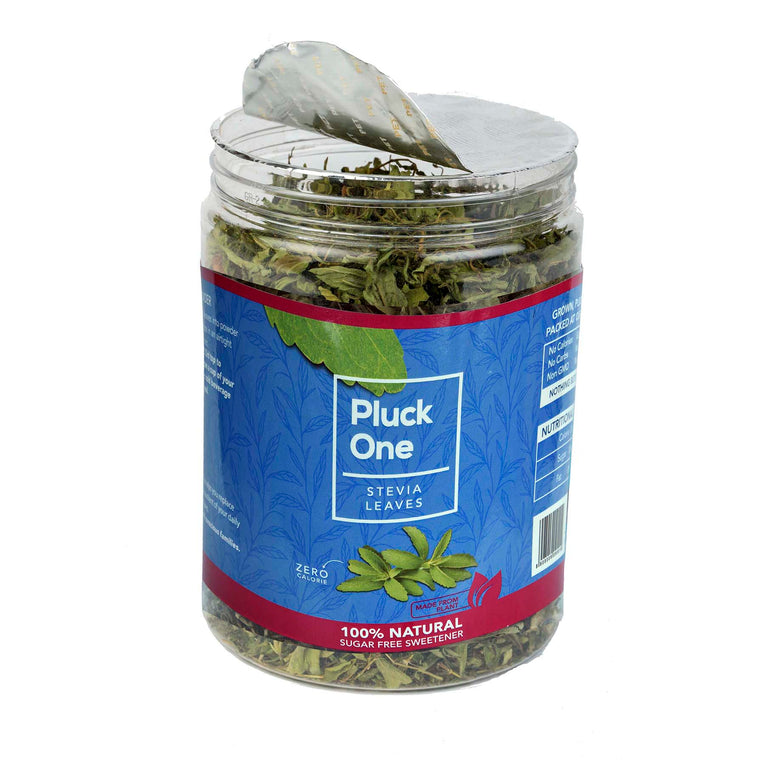 Pluck One Stevia Dried Leaves | 50 gms