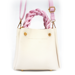 Bucket Twist Bag White
