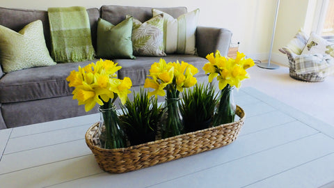 Daffodil table centre