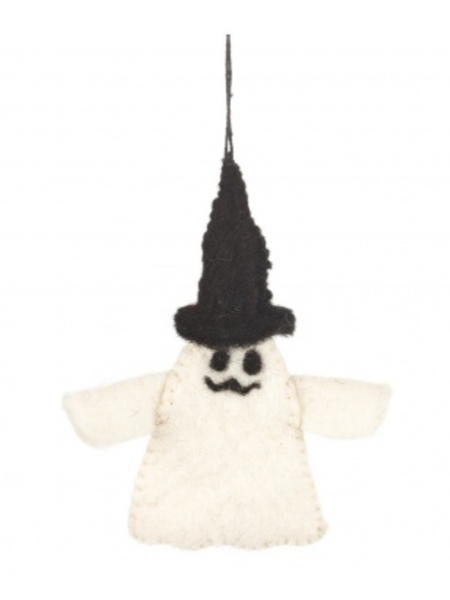 Friendly Ghost Hanging Halloween Decoration