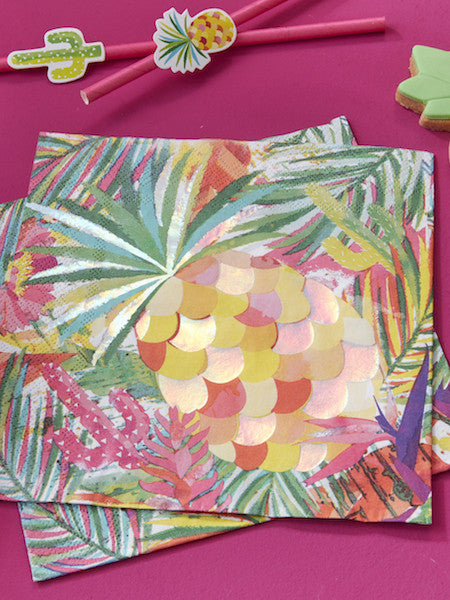 Luxury Tropical Paper Napkins