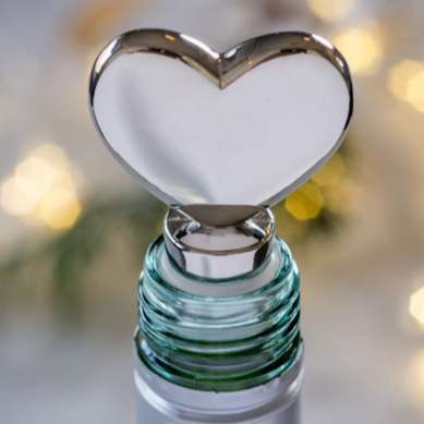 Heart Bottle Stopper