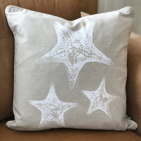 Starfish Seaside Cushion