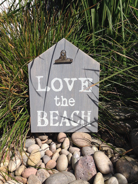 Love The Beach Memo Board