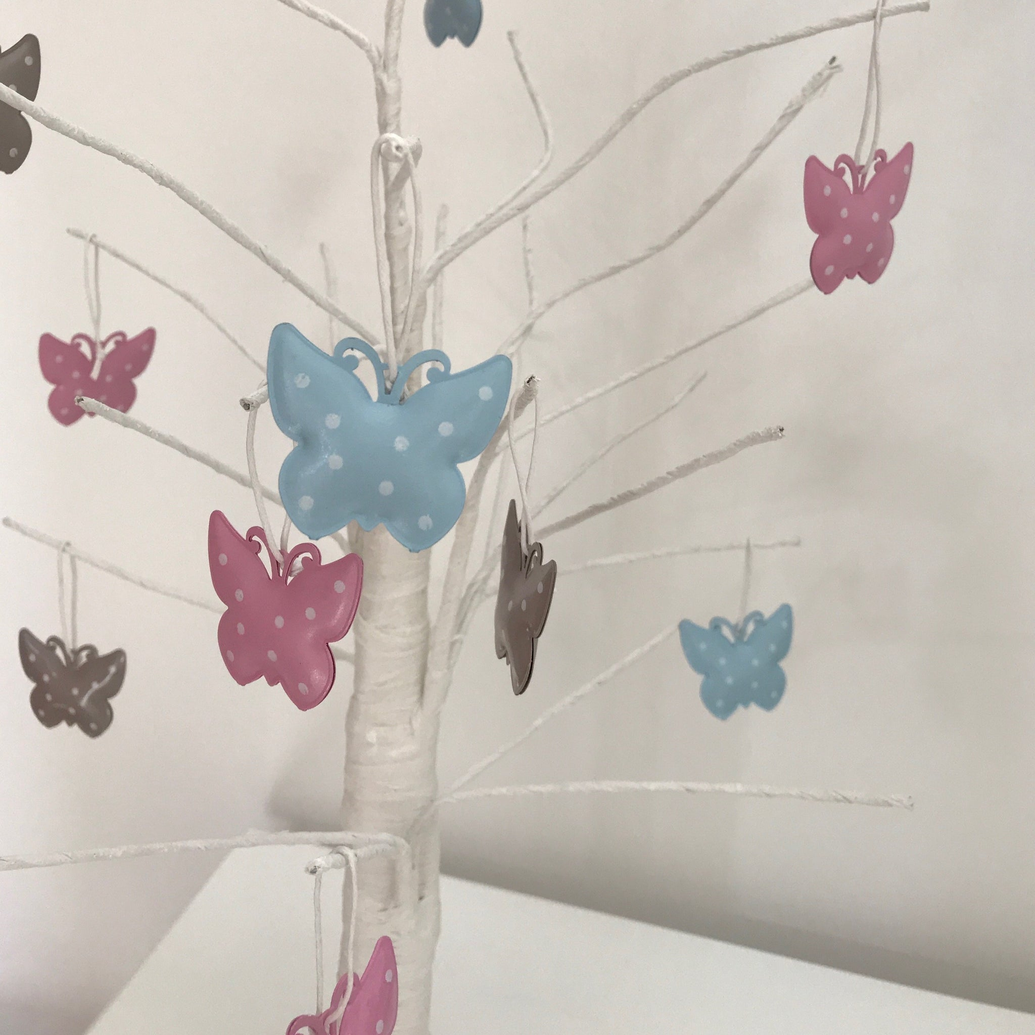 Mini Butterfly Easter Decorations - 12 pack