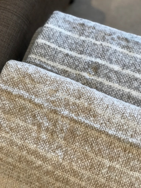 Ombre Faux Mohair Throw