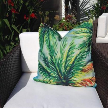 Perfect Palm Cushion Cover