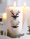 Stag Head Candle Studs