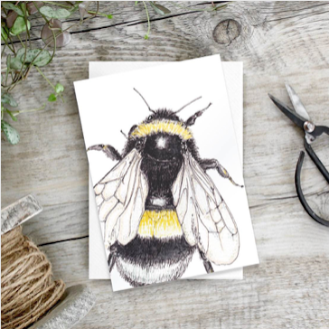 Bee Stationery - Bee Notecards