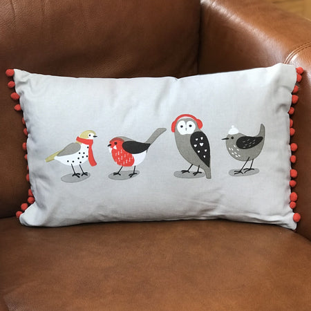 RSPB Winter Birds Cushion