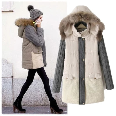 Winter new women cotton coat High Quality