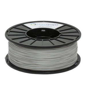 ABS Gray 1.75 mm Filament - 3D Printer Supply Co.