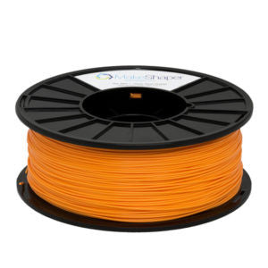 ABS Neon Orange 1.75 mm Filament - 3D Printer Supply Co.
