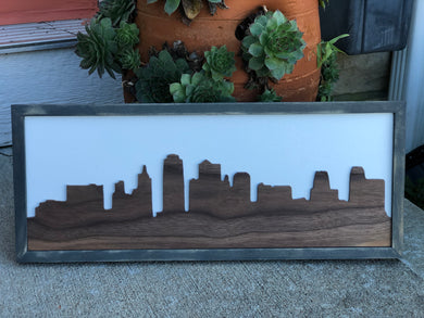 3D Sign - Kansas City Skyline
