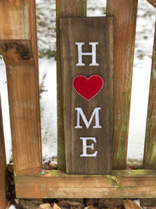 String Art Home Sign