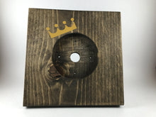 Nest Thermostat Wooden Wall Plate - Kansas City Royals Crown