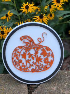 Decorative Fall Round Signs