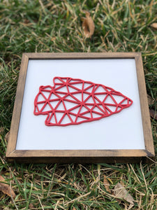 3D Sign - Polygon Arrowhead