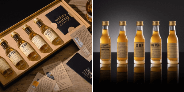 Old whisky set available at Whisky Tasting Company