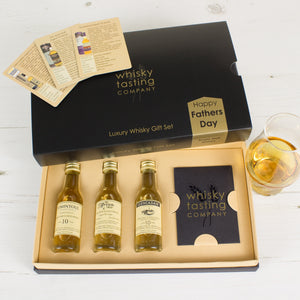 3-BOTTLE FATHERS DAY WHISKY GIFT SET