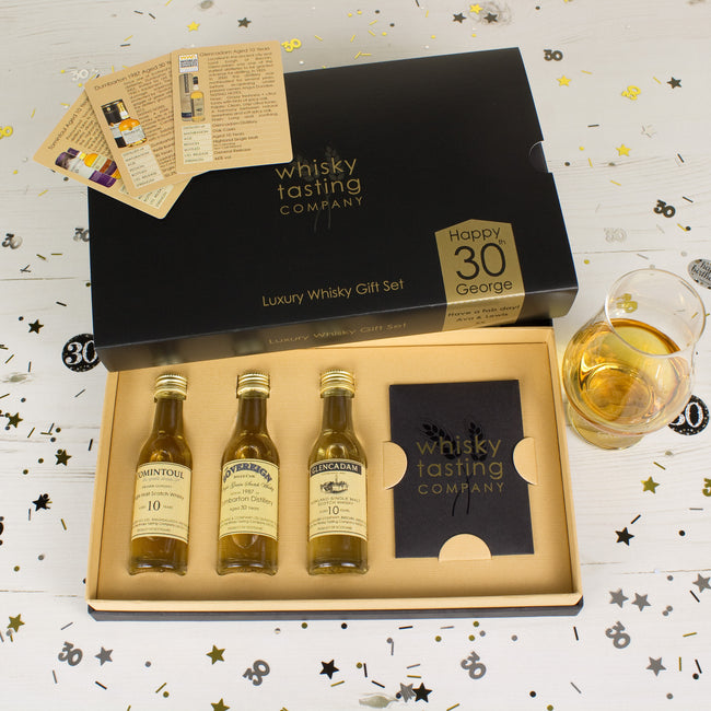 30th BIRTHDAY WHISKY SET (3 bottle)