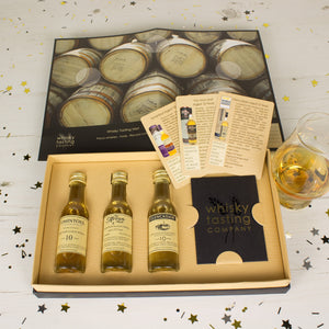 3-BOTTLE SINGLE MALT WHISKY GIFT SET