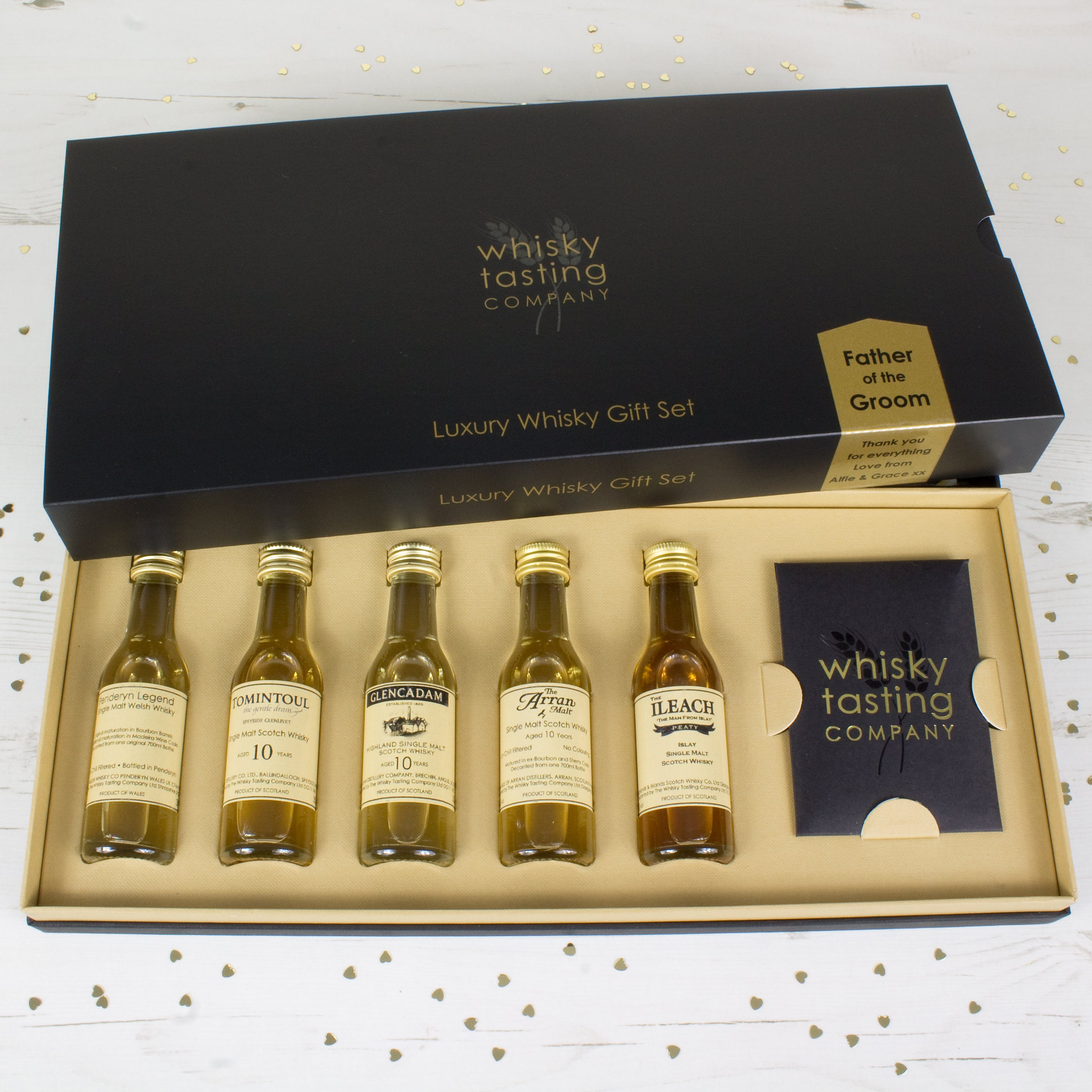 FATHER OF THE GROOM SINGLE MALT GIFT SET
