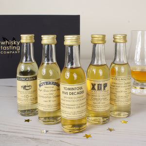 FIVE DECADES OF WHISKY GIFT SET