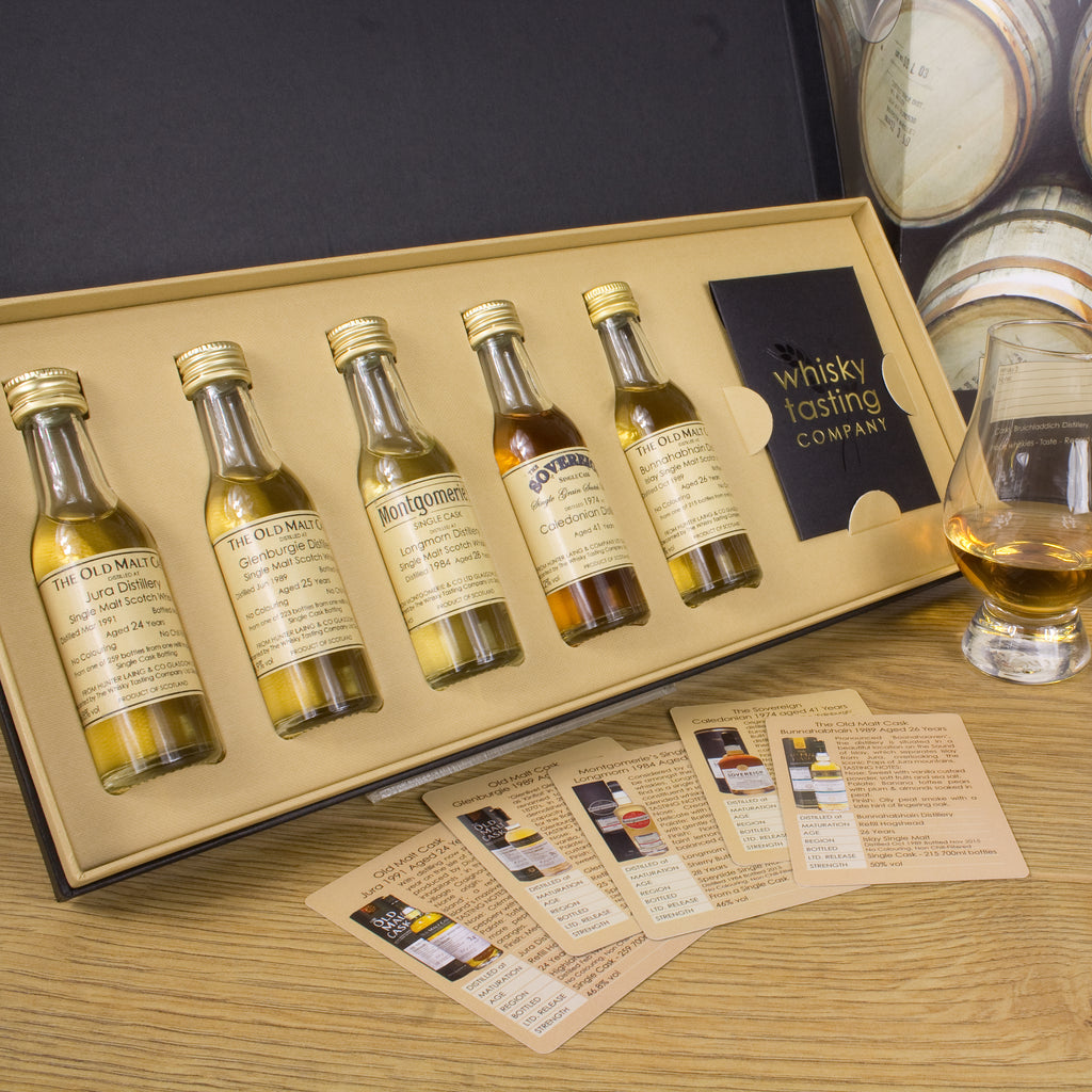 OLD & RARE SCOTCH WHISKY GIFT SET