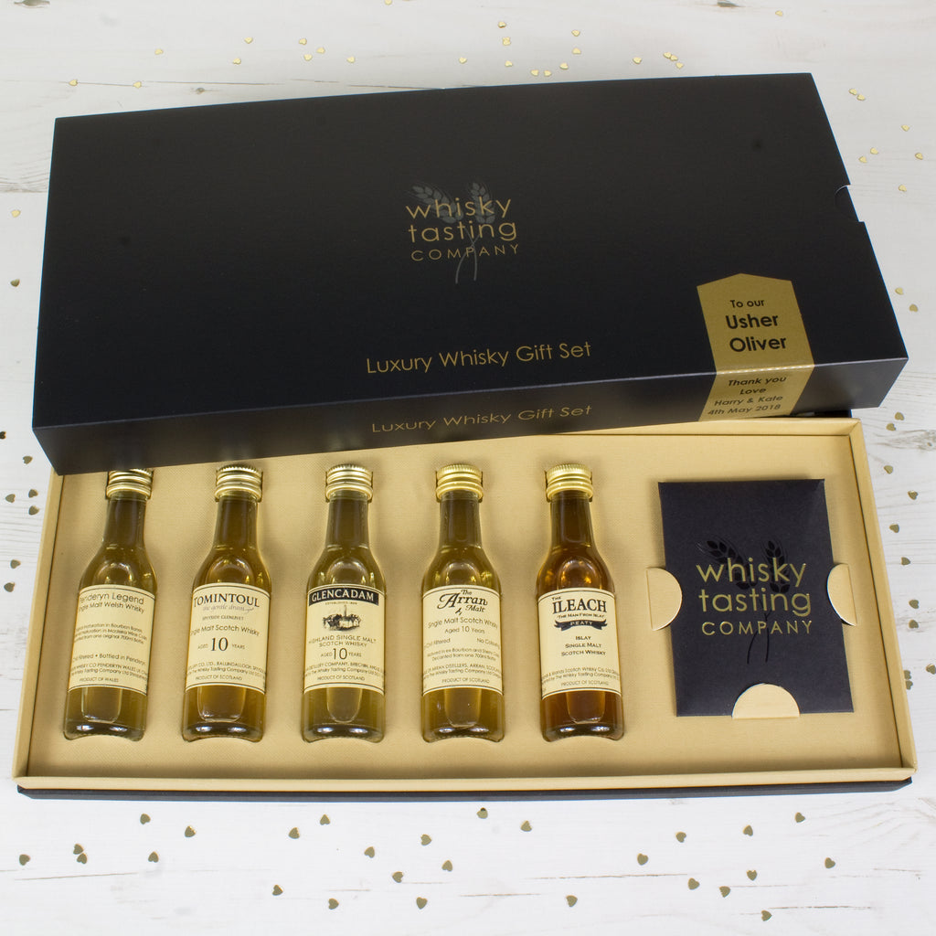 USHER SINGLE MALT GIFT SET