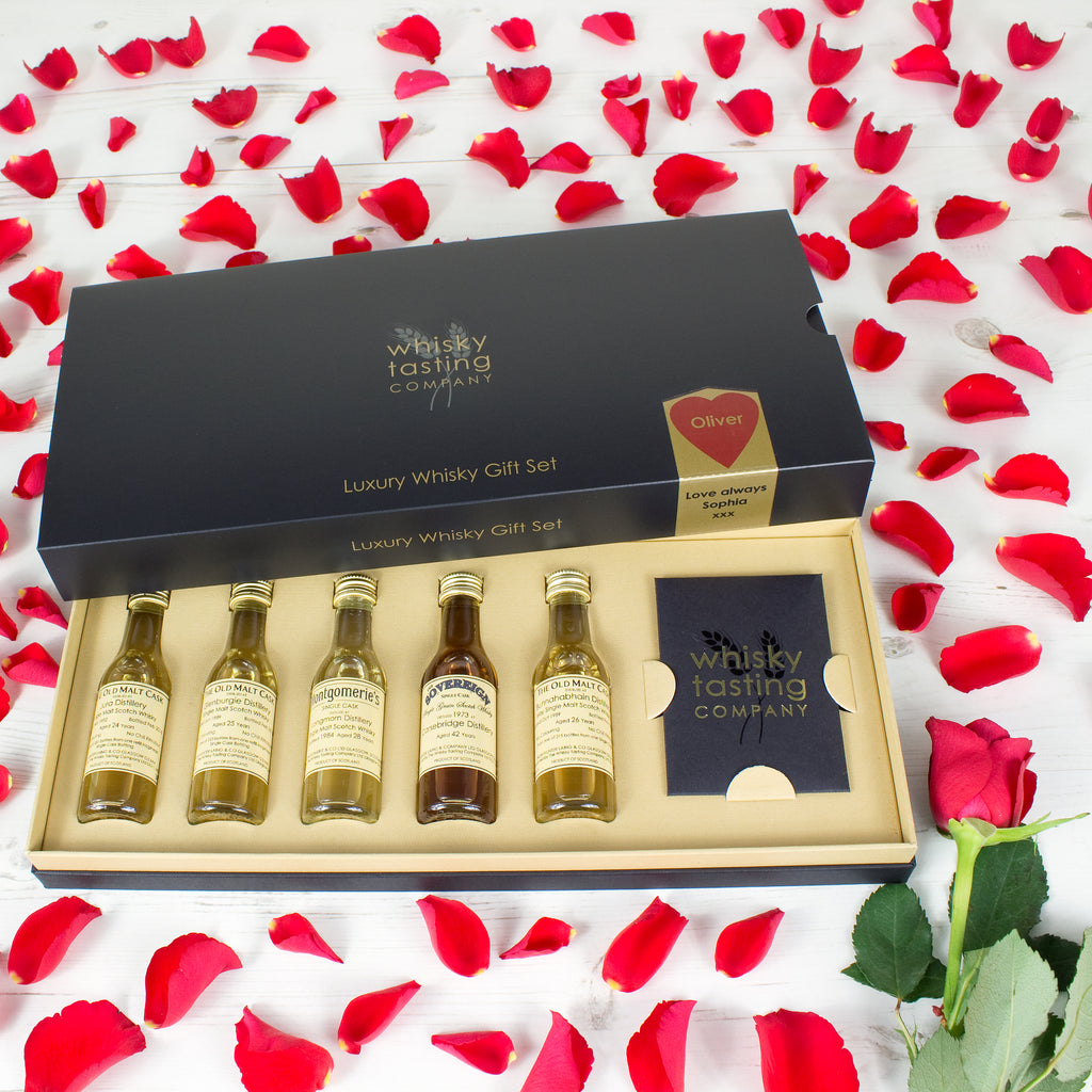 Valentines Old & Rare Whisky Gift Set