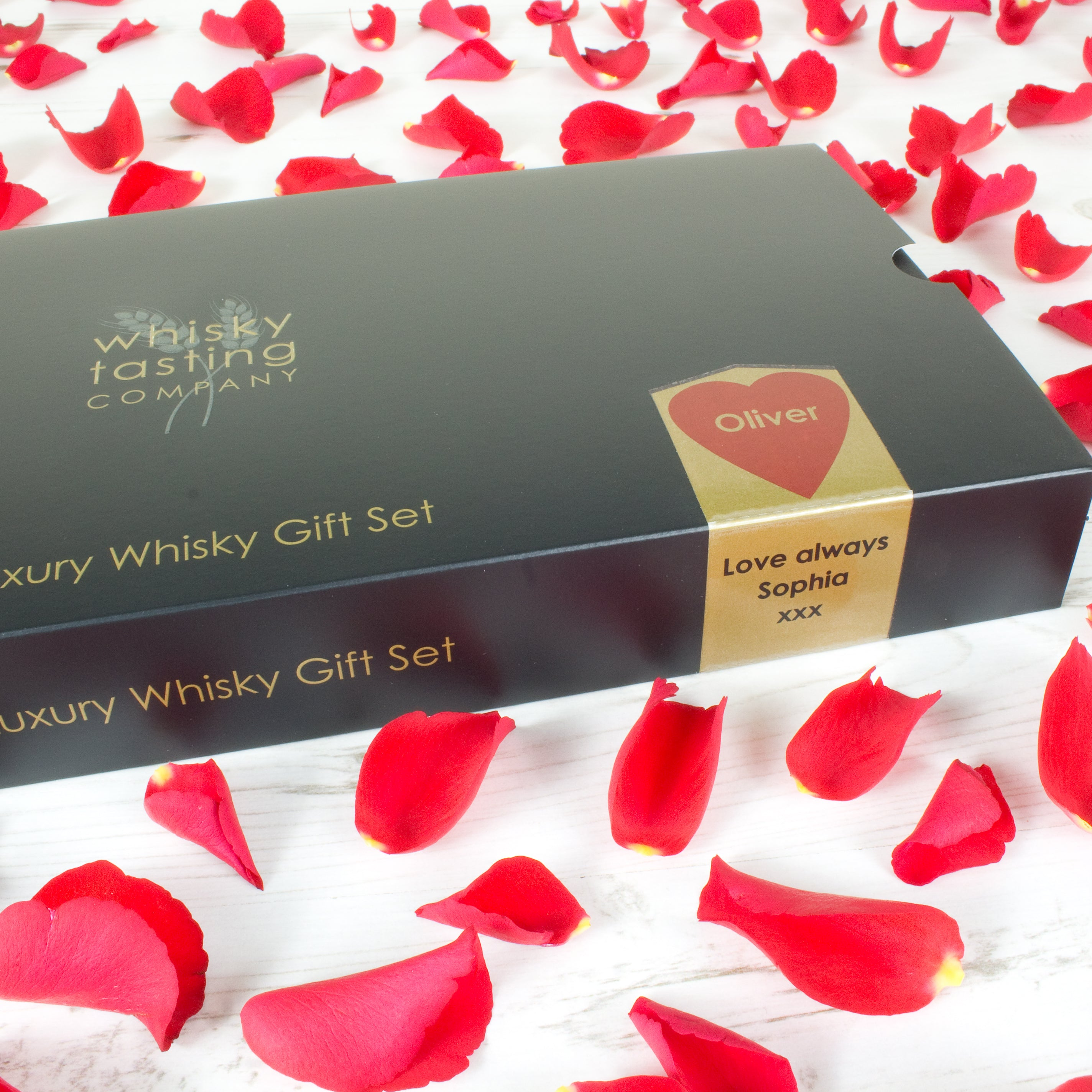 VALENTINES WHISKY GIFT SET