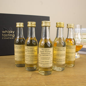 PENDERYN WELSH WHISKY GIFT SET