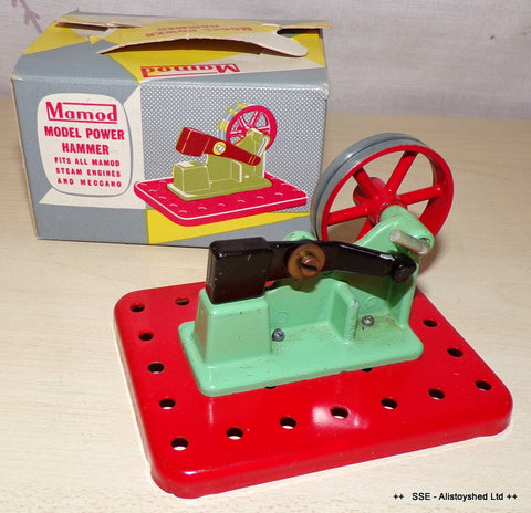 Boxed Mamod Trip Hammer Live Model Steam Engine Accessory
